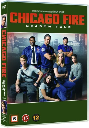 Chicago Fire - Säsong 4 DVD