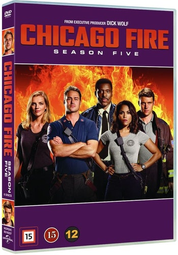 Chicago Fire - Säsong 5 DVD