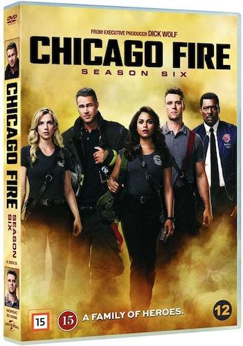 Chicago Fire - Säsong 6 DVD