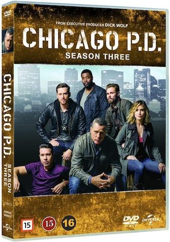 Chicago P.D. - Säsong 3 DVD