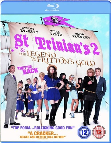 St Trinians 2 - The Legend Of Frittons Gold Blu-Ray (import)