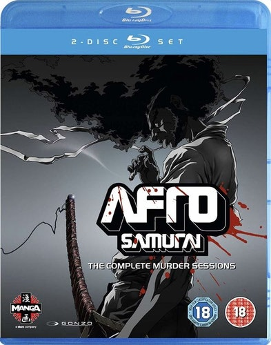 Afro Samurai - The Complete Murder Sessions Blu-Ray (import)