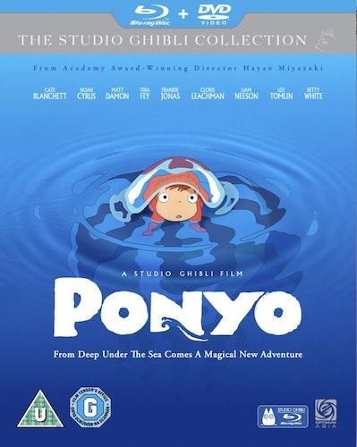 Ponyo (Blu-ray + DVD) (Import)