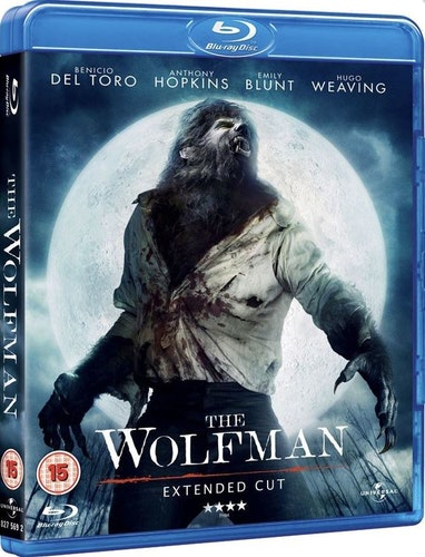 The Wolfman - Extended Cut Blu-Ray (import)