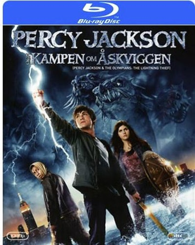 Percy Jackson: Kampen Om Åskviggen bluray
