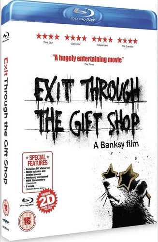 Exit Through The Gift Shop - A Banksy Film (Blu-ray) import