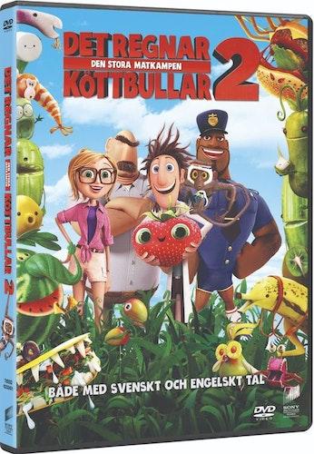 Det Regnar Köttbullar 2 DVD