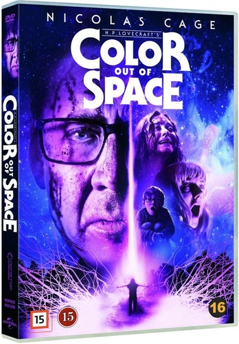 Color out of space DVD