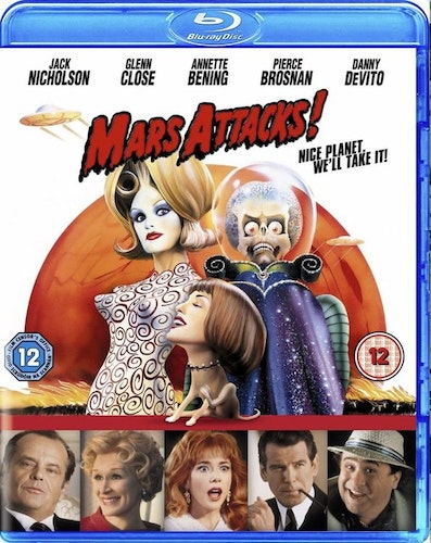Mars Attacks! (Blu-ray) (Import Sv.Text)