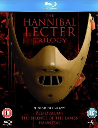 Hannibal Lecter: Trilogy (Blu-ray) (3-disc) (Import Sv text)
