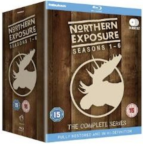 Northern Exposure Säsong 1-6 Complete Collection Blu-Ray (import)
