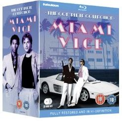 Miami Vice Säsong 1-5 Complete Collection bluray (import)