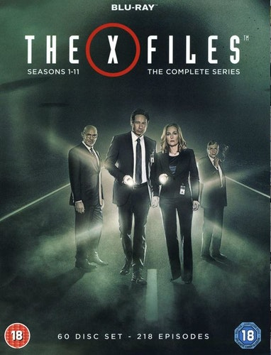 The X-Files/Arkiv X säsong 1-11 (komplett, alla säsonger) (import Sv text) bluray