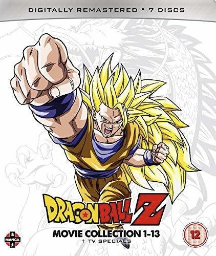 Dragon Ball Z Movie Complete Collection - Movies 1-13 + TV Specials bluray (import)