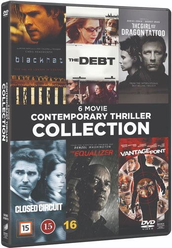 Contemporary Thriller Collection DVD UTGÅENDE