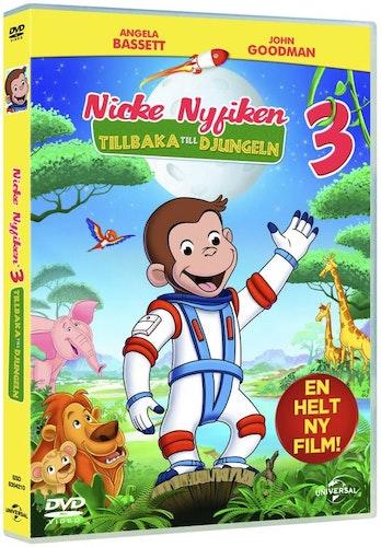 Nicke Nyfiken 3: Tillbaka Till Djungeln DVD