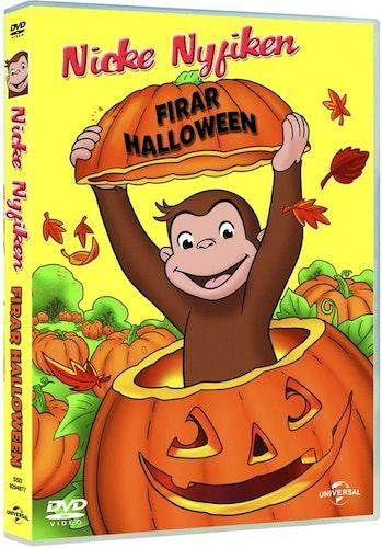 Nicke Nyfiken: Firar Halloween DVD