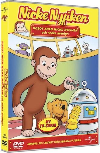 Robotapan Nicke Nyfiken och andra äventyr DVD