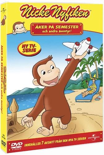 Nicke Nyfiken: Åker På Semester Och Andra Äventyr! DVD