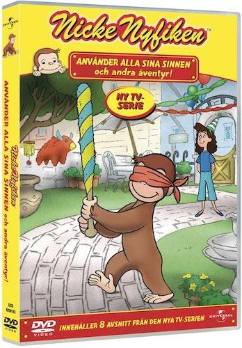 Nicke Nyfiken: Använder Alla Sina Sinnen DVD