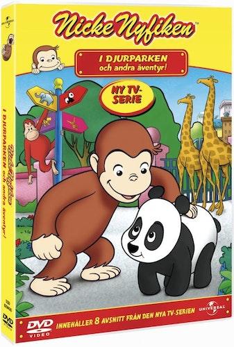 Nicke Nyfiken i djurparken DVD