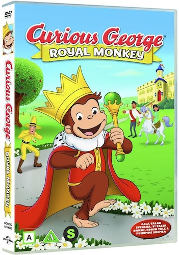 Nicke Nyfiken: Royal monkey DVD