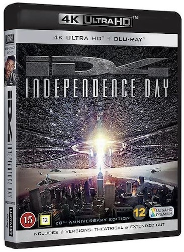 Independence Day - 20th Anniversary Edition (UHD+BD)