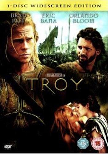 Troja DVD (import med svensk text)