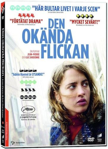 Den Okända Flickan DVD
