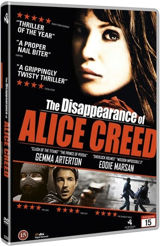 The Disappearance of Alice Creed DVD