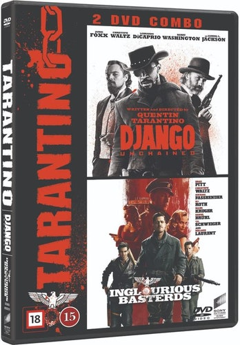 Django Unchained + Inglourious Basterds DVD