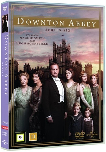 Downton Abbey - Säsong 6 DVD (import)