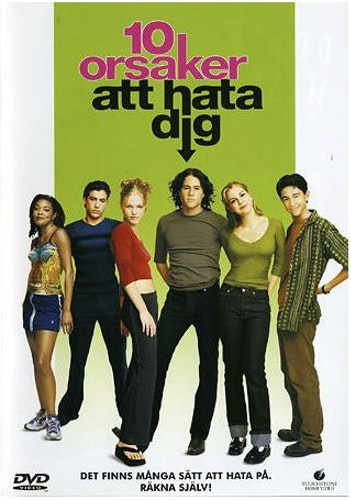 10 orsaker att hata dig/ 10 things I hate about you DVD (beg)