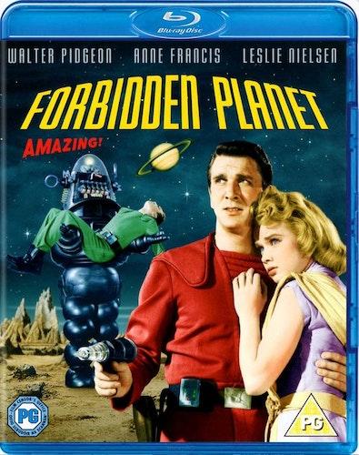 Forbidden planet (Blu-ray) (Import) från 1956