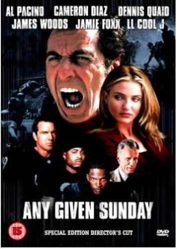 Any given Sunday DVD (Import)