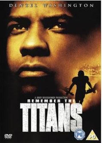Remember the titans DVD (import med svensk text)