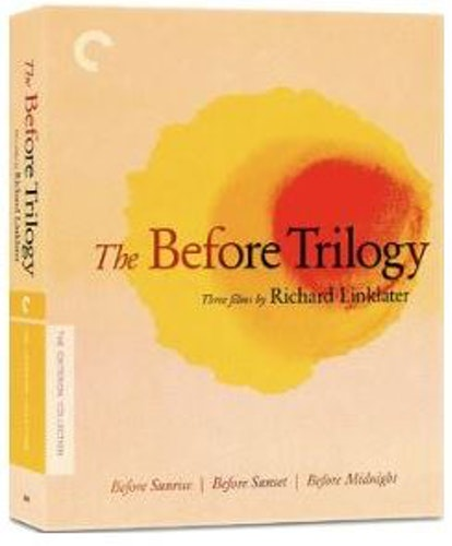 The Before Trilogy - Before Sunrise, Sunset & Midnight - Criterion Collection bluray (import)