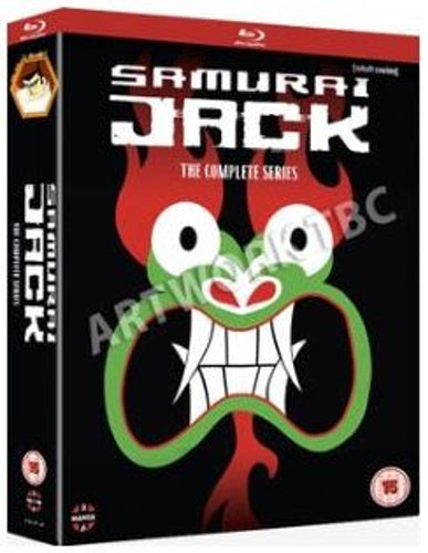 Samurai Jack säsong 1-5 bluray (import)