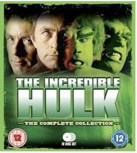 The Incredible Hulk säsong 1-5 Complete Collection bluray (import)