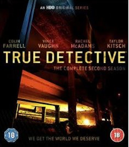True Detective säsong 2 bluray (import)