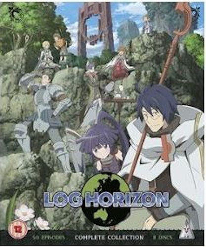 Log Horizon Säsong 1-2 Collector's Edition bluray (import)
