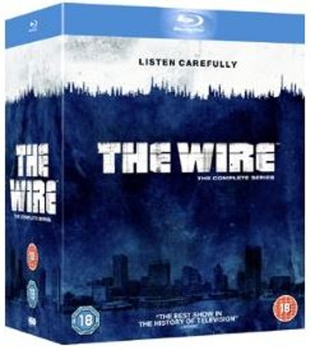 The Wire säsong 1-5 Complete Collection bluray (import)