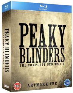 Peaky Blinders Säsong 1-5 bluray (import)