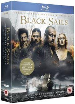 Black Sails Säsong 1-4 bluray (import)