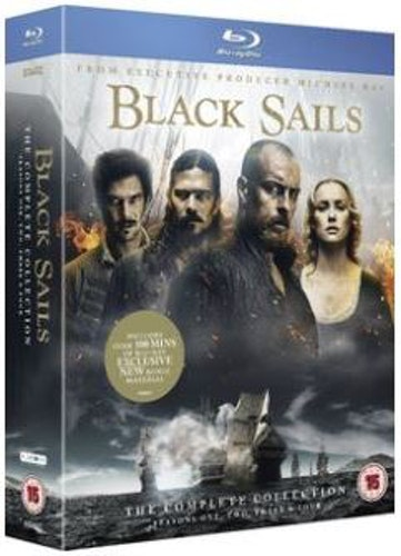 Black Sails Säsong 1-4 bluray (import)