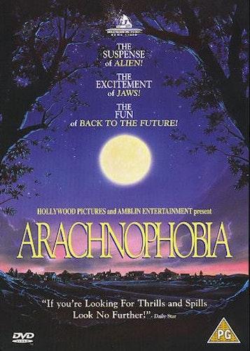 Arachnophobia Imse vimse spindel DVD (Import)