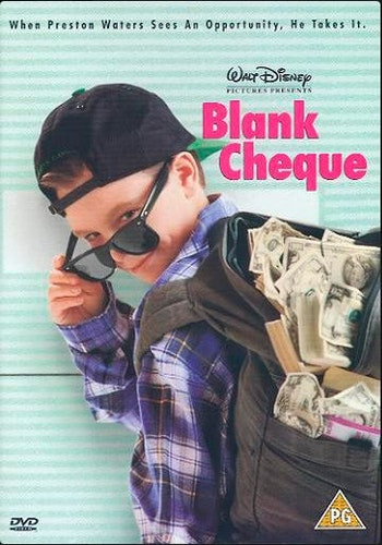 Blank Check DVD (Import)
