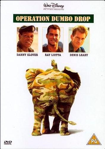Jakten På Den Heliga Elefanten/Operation Dumbo Drop DVD (Import Sv.Text)