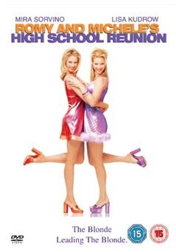 Romy och Michelle - Blondiner har roligare/Romy and Michele's High School Reunion DVD (Import)