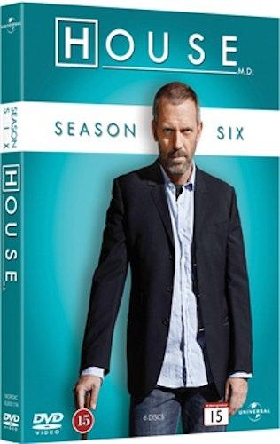 House - Säsong 6 DVD UTGÅENDE